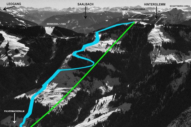Powstaje największy region narciarski w Austrii - budowa kolejki TirolS zgodnie z planem- ©Skicircus