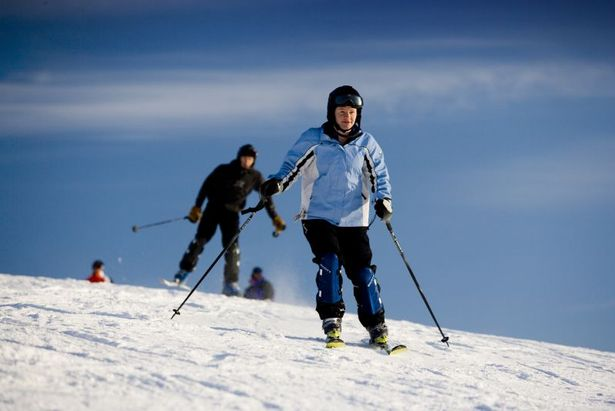 Shanty Creek skiers
