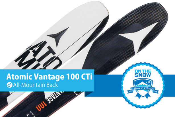 Atomic Vantage 100 CTi: Editors' Choice, Men's All-Mountain Back