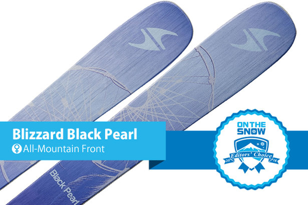 Blizzard Black Pearl: Editors' Choice, Women's All-Mountain Front