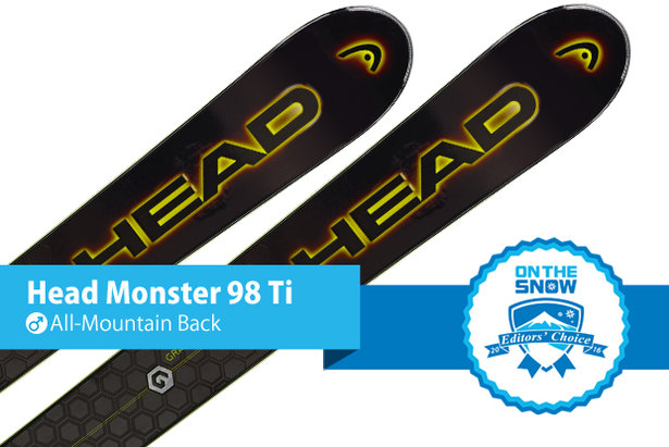 Head Monster 98 Ti: Editors' Choice, Men's All-Mountain Back
