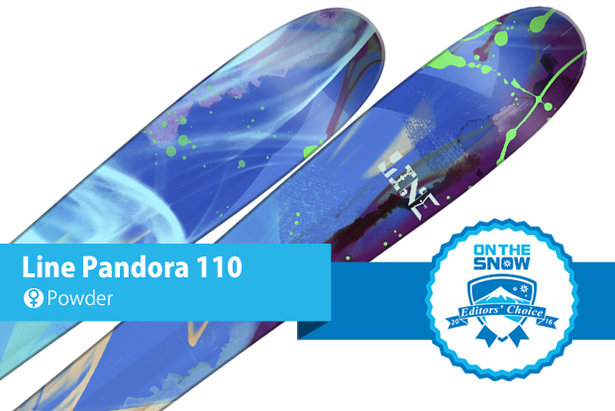 Line Pandora 110: Editors' Choice, Women's Powder