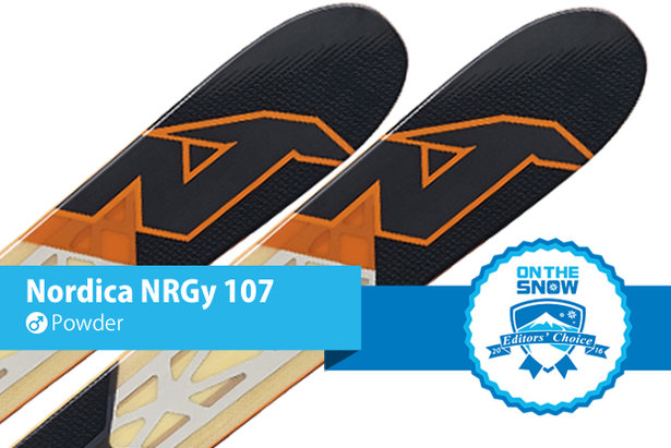 Nordica NRGy 107: Editors' Choice, Men's Powder