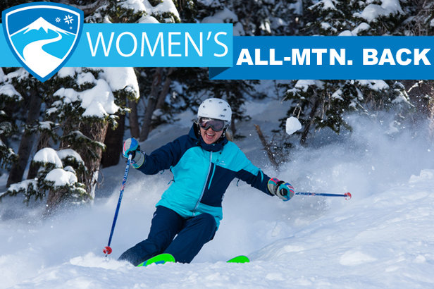 2015/2016 Women's All-Mountain Back skis.