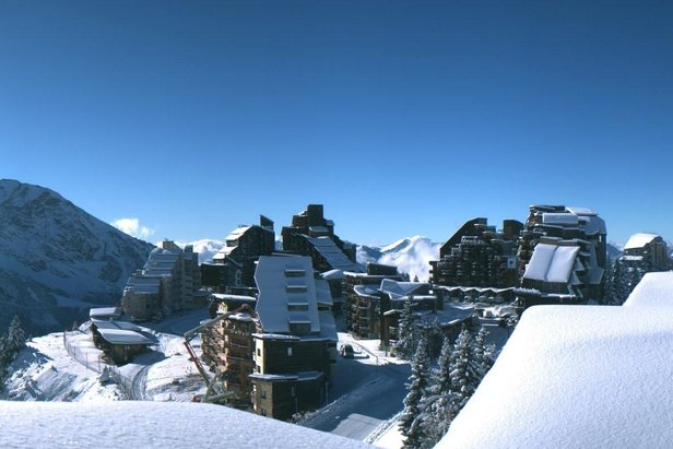 Avoriaz has an excellent powder record