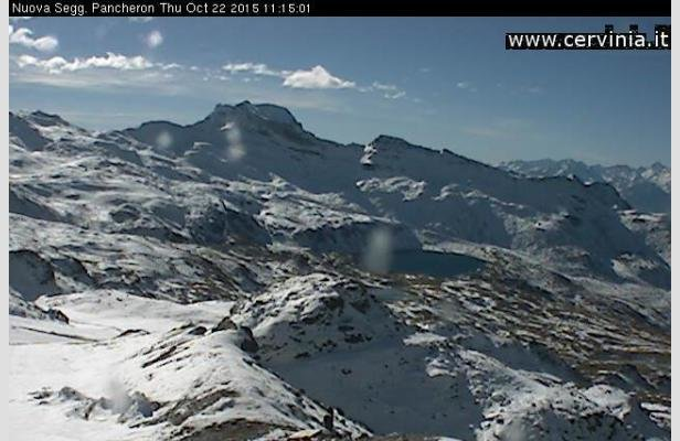 Cervinia, 22 Ottobre 2015 - Webcam in tempo reale
