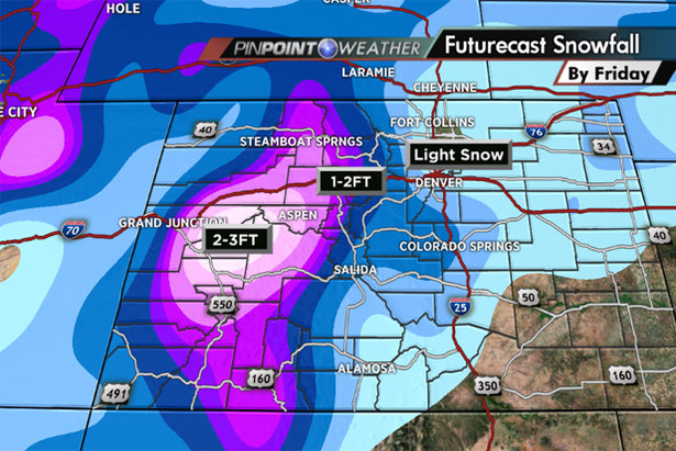Snow Before You Go: Ho Ho Holy Crap, That's a Lot of Snow! ©Meteorologist Chris Tomer