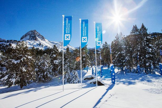 Conditions optimales en ce début de saison sur le domaine skiable de Grandvalira