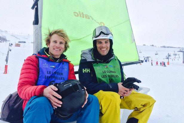 Cette année encore, Aurélien DUCROZ et François GABART seront présents au Corbier pour en découdre, en équipe, à l'occasion du Trophée Mer Montagne