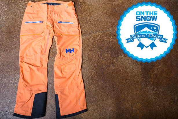 2016 women's pants Editors' Choice: Helly Hansen W Aurora Shell Pant