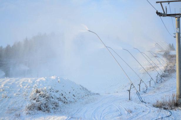 Nå er virkelig vinteren her ©Jostein Svalheim / Kongsberg Skisenter