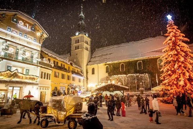Magical Megeve at Christmas time  - © Simon Garnier