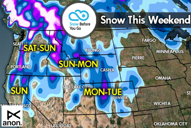 Snow Before You Go Nov. 11: More Snow for the West- ©Meteorologist Chris Tomer