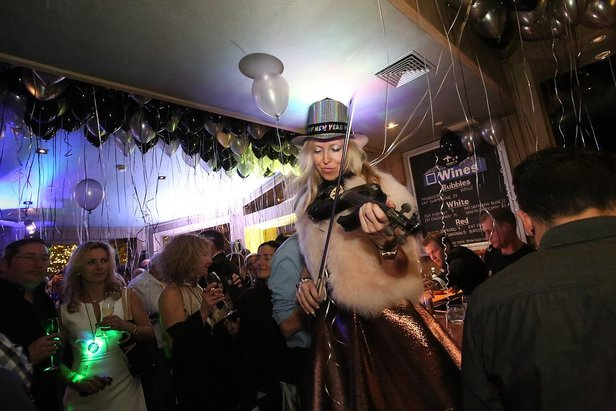 NYE at The Little Nell in Aspen  - © Ross Kribbs