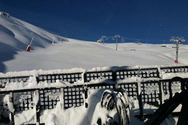 Grâce au travail des équipes du service des pistes, le Grand-Tourmalet sera en mesure d'accueillir les skieurs sur 75% de son domaine skiable dès samedi 5 décembre