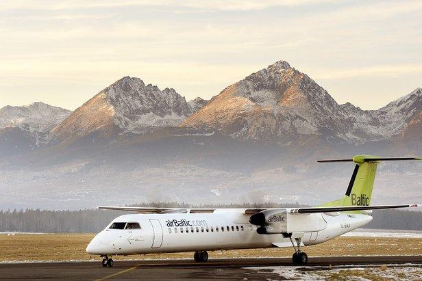 Odległość z lotniska Poprad-Tatry do najpopularniejszych słowackich ośrodków narciarskich wynosi kilkanaście kilometrów.