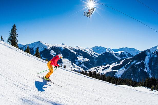 Najväčšie lyžiarske strediská v Rakúsku: 3 – Saalbach Hinterglemm Leogang- ©Saalbach Hinterglemm / BAUSE