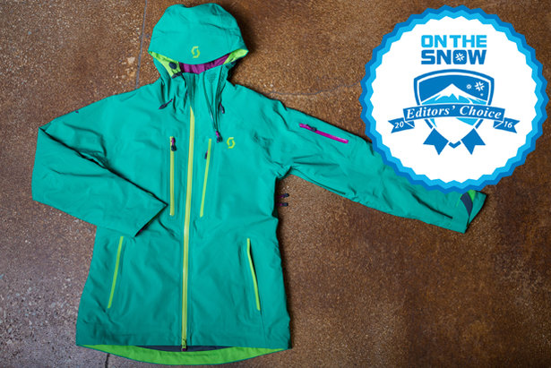 2016 Women's Jacket Editors' Choice: Scott Ultimate GTX Jacket- ©Liam Doran