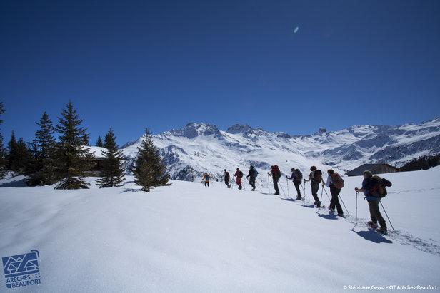 Arêches Beaufort est une destination de rêve pour le ski de randonnée
