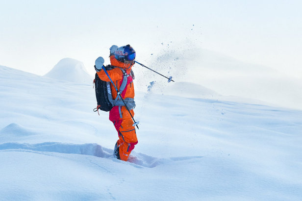 A skier knows by Peak Performance