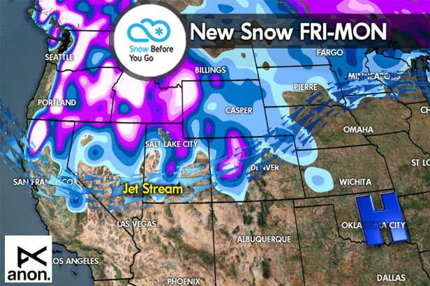 Snow Before You Go: Snomageddon to Continue out West- ©Meteorologist Chris Tomer