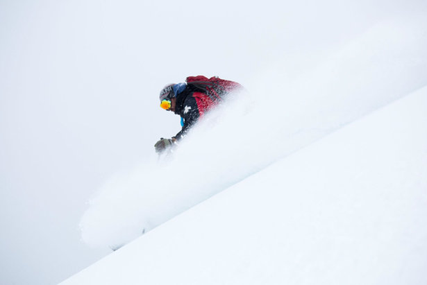 A Wolf Creek Patroller Samples the Goods on Thursday, Nov. 5