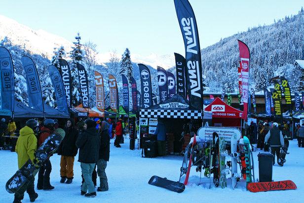 Snowboard Neuheiten 16/17: Erster Ausblick auf die kommende Saison beim Shops 1ST Try- ©Stefan Drexl