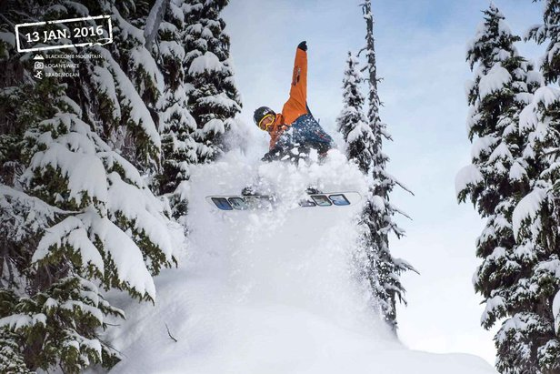 Big Snow Alert Whistler: Over 17 Feet This Season & More in the Forecast- ©Logan Swaze