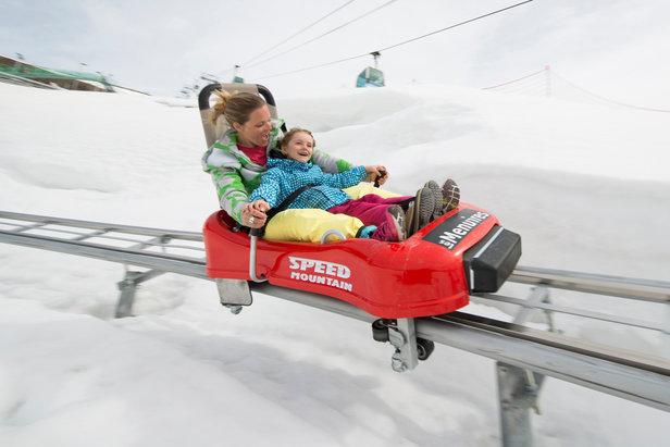 Aux ménuires, pour les amateurs de sensations fortes et de vitesse, le Speed Mountain est un passage obligé