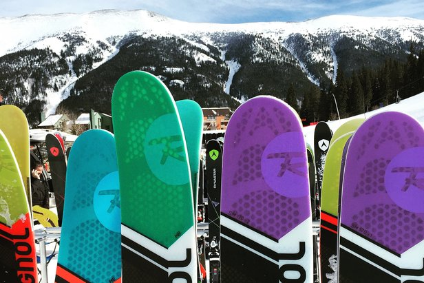 Hot Gear for Next Year: 2 Top Ski Trends for 2017 ©Krista Crabtree