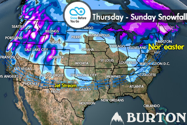 Snow Before You Go: Heavy Snow to Fly West, Northeast- ©Meteorologist Chris Tomer