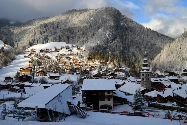 Traditional French village of La Clusaz  - © La Clusaz