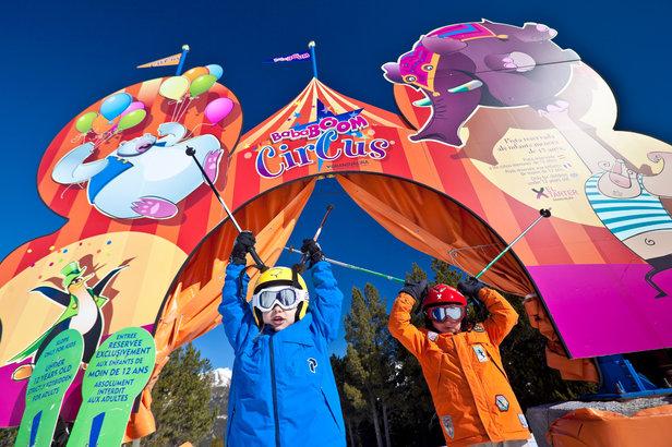 Situé au secteur El Tarter de Grandvalira, Bababoom Circus est un circuit spécialement dédié aux enfant avec différents éléments ludiques et décoratifs.