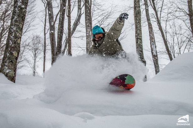 Photo Gallery: Jonas Brings FEET of Powder to Mid-Atlantic - ©Kurtis Schachner/ Snowshoe Mountain Resort