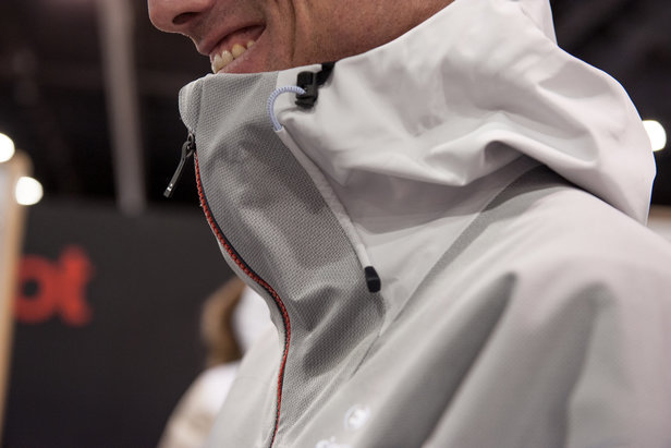 """We're loving the tangible tech story from Eider this season with its Fix a Shape Zipper, an ergonomic design that protects your face without smothering or restricting chin and head movement. Talk about a """"where have you been all my skiing years?"""""""