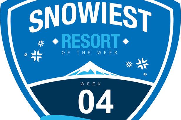 Snowiest Resort of the Week - 4. kalendárny týždeň