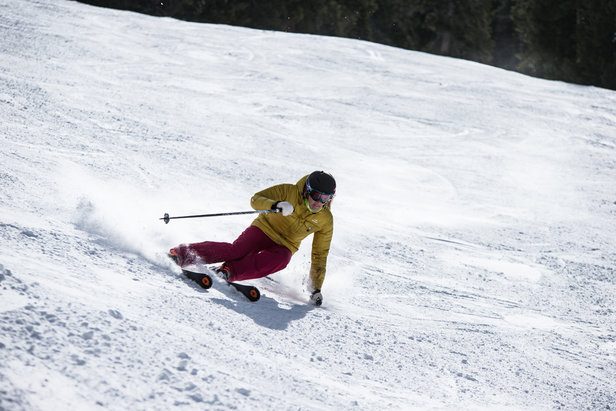 Claire getting her carve on.  - © Liam Doran