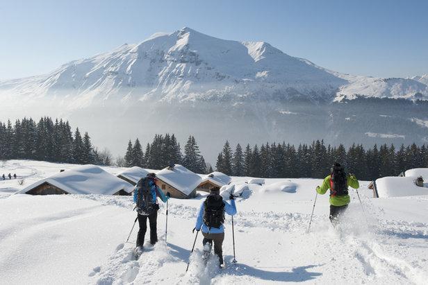Au printemps ski prix ensoleill s aux contamines montjoie - Office tourisme les contamines ...
