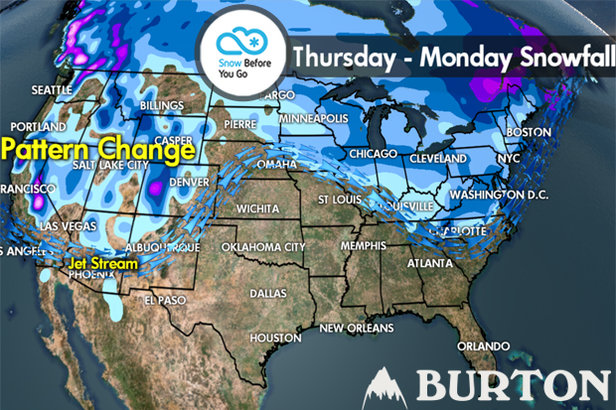 Snow Before You Go: Snow Returns to the West