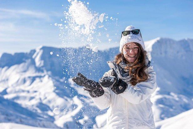 Week-end de la Femme à Val d'Allos et Praloup : Forfait offert à toutes les filles !