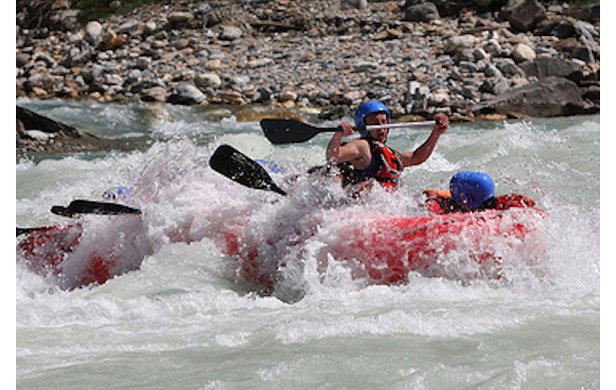 The Kicking Horse River offers some of the most-challenging Class III-IV whitewater in Canada  - © Alpine Rafting