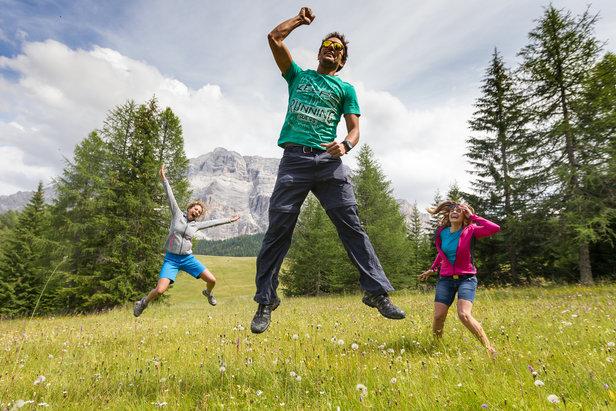 La montagna d'estate in Alta Badia