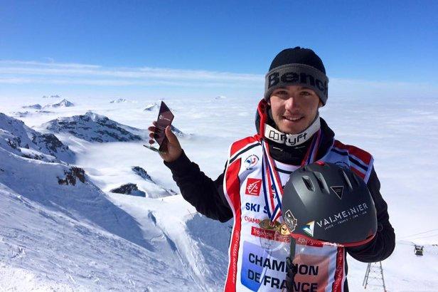 Axel Le Palabe, jeune rider de 17 ans qui évolue sur le circuit français et internationnal.