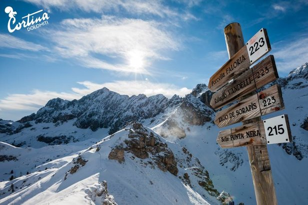Meteo weekend: ultima chiamata per chi vuole sciare!- ©Cortina d'Ampezzo Facebook