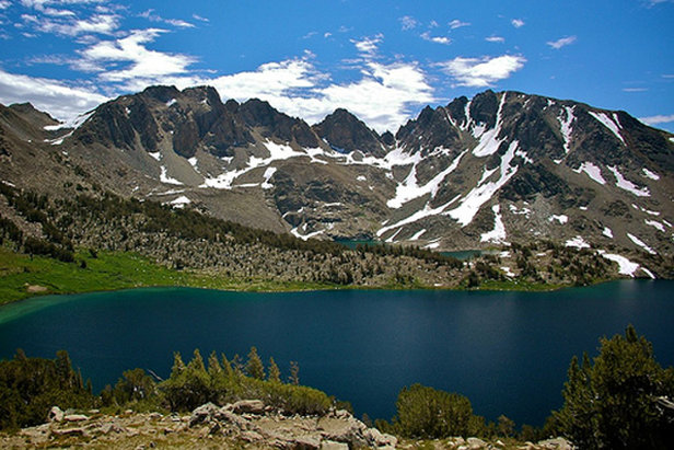 Duck Lake is just one of the gorgeous sites along the Duck Pass trail run.  - © Matthew Lehman