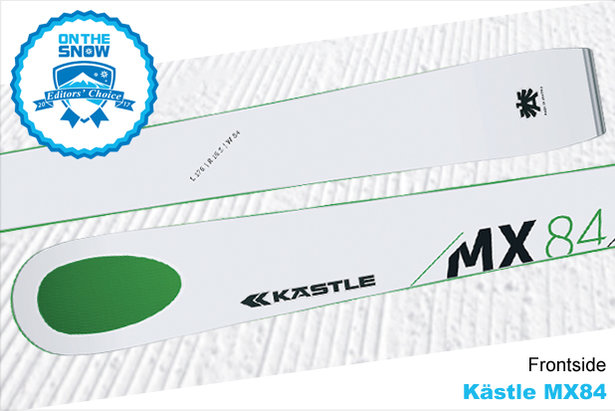 Kästle MX84, men's 16/17 Frontside Editors' Choice ski.  - © Kästle