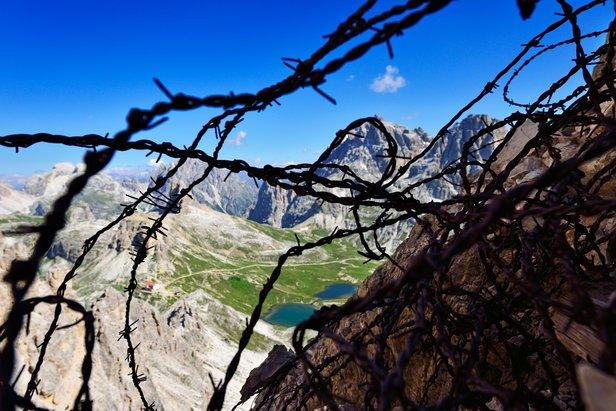 Klettersteig Drei Zinnen : Klettersteige in den dolomiten: kampf um die drei zinnen bergleben