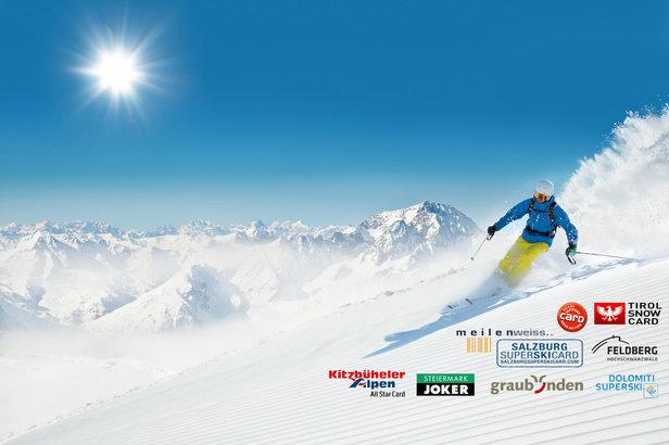 Nawet 4.000 km tras narciarskich na jednym karnecie? To możliwe! Oferta spipassów sezonowych jest bardzo bogata.