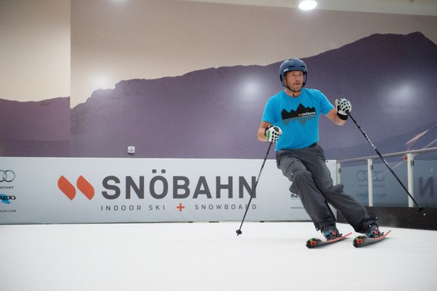 Olympic Gold Medalist, Bode Miller, one of the athletes involved in SNÖBAHN.  - © Rachel Olsen Photography