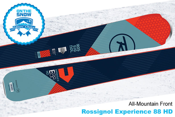 Rossignol Experience 88 HD: 16/17 Editors' Choice Men's All-Mountain Front Ski- ©Rossignol